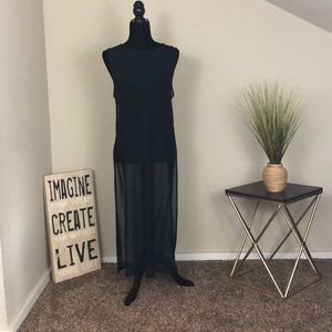Urban outfitters (light before dark) sheer maxi